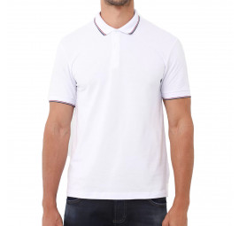 Camisa Polo Forum Muscle Branca Masculina