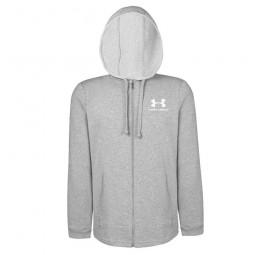 Jaqueta Under Armour SportStyle Terry Cinza Masculina