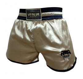 Shorts Muay Thai Venum Classic Spirit Borda Gold